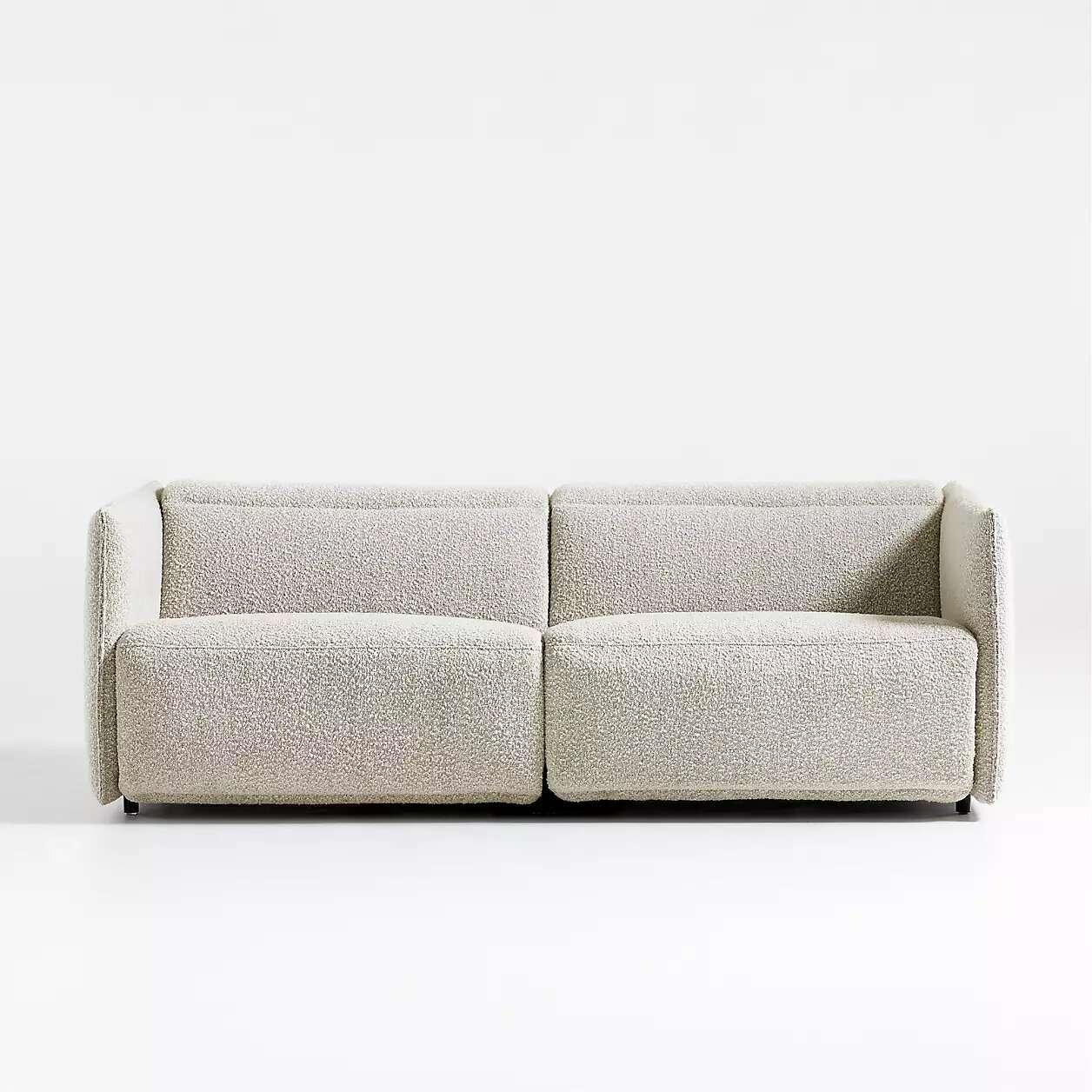 Crate & Barrel Leisure Power Recliner Sofa