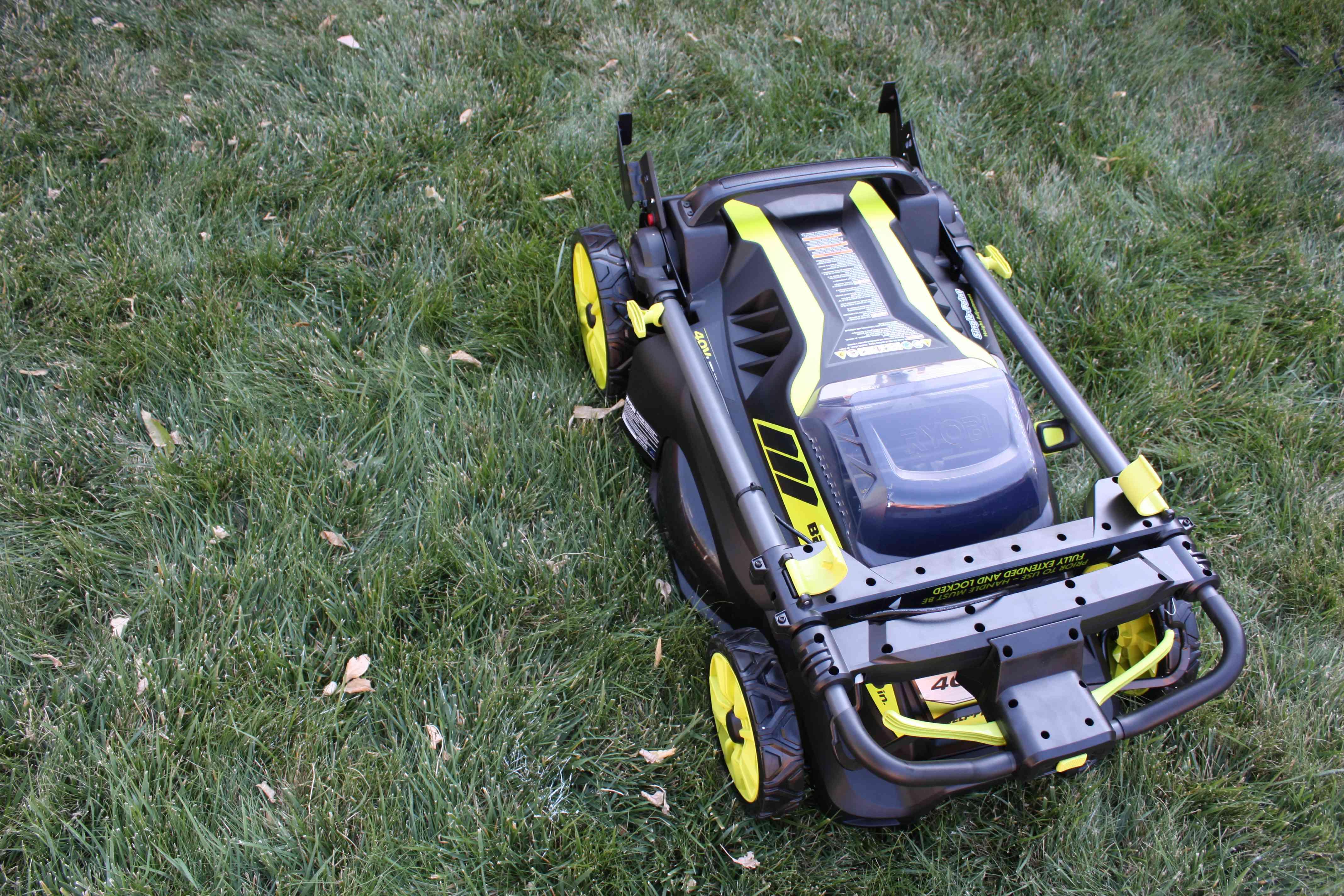 RYOBI 40-Volt Brushless Self-Propelled Mower
