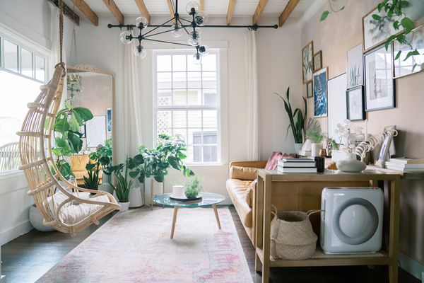 calming living room oasis