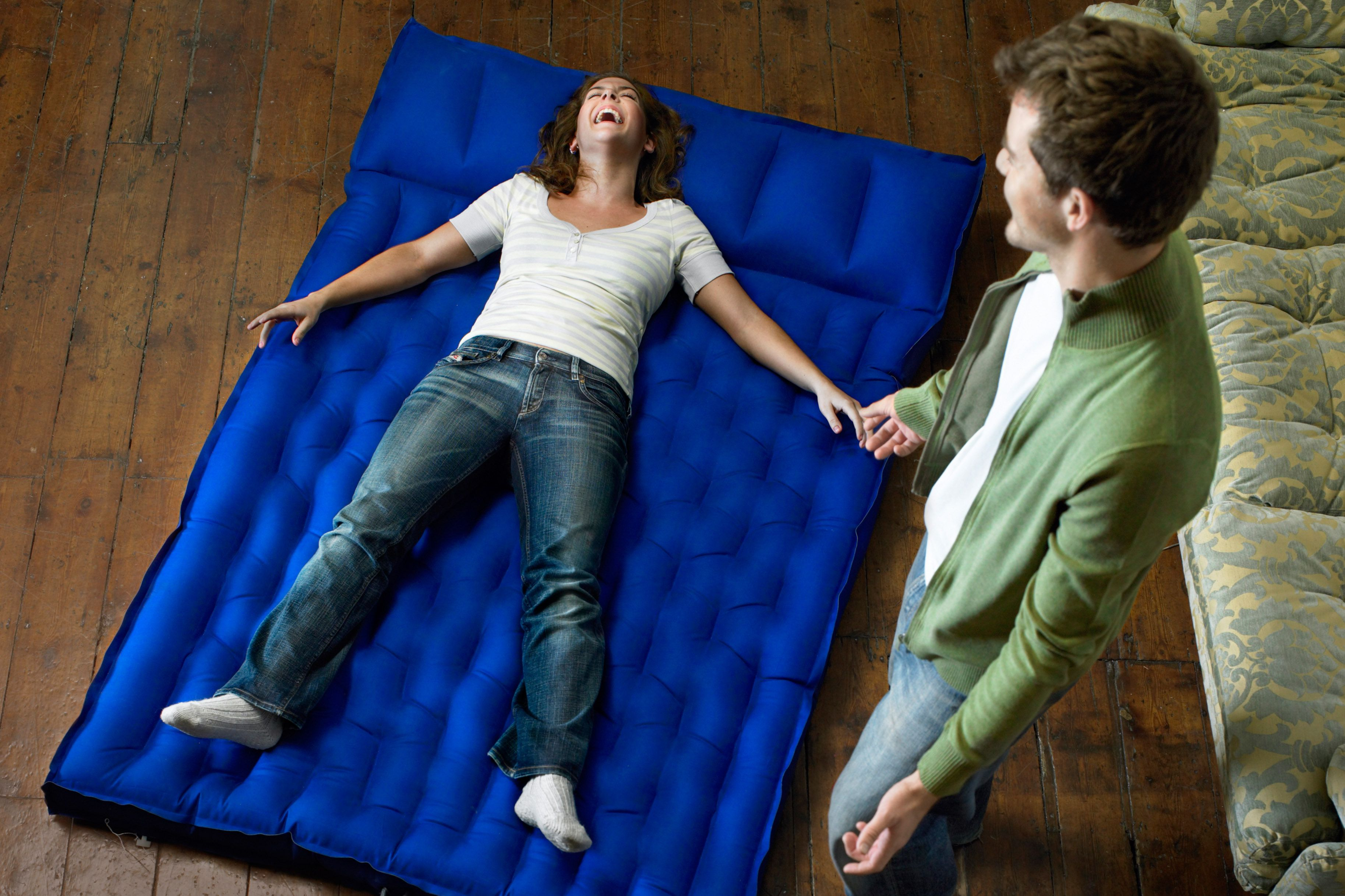 How to make air bed comfortable
