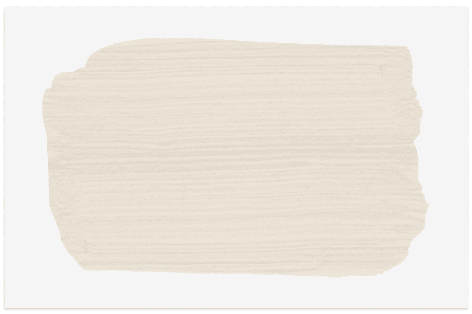 Sherwin-Williams swatch in Ivory Lace