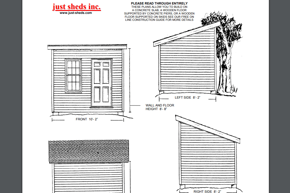 18 Free Shed Plans That Will Help You DIY a Shed