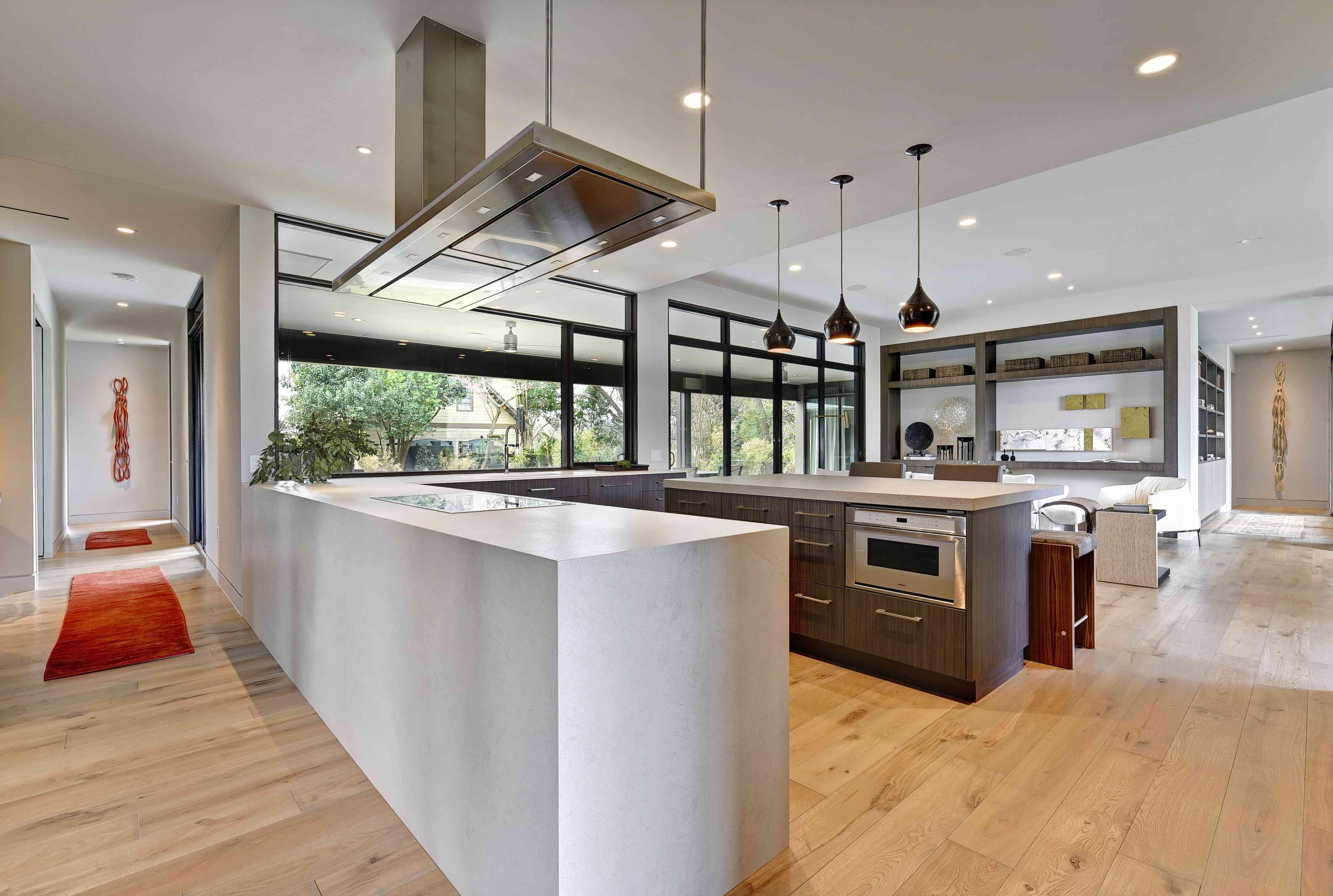Laura Britt's kitchen in her WELL home in Austin, for Designer Diggs