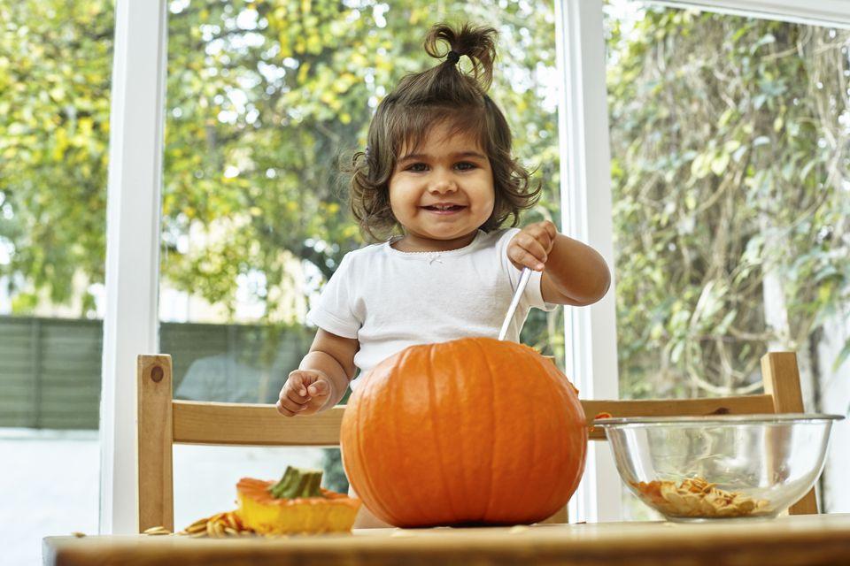 pumpkin stains