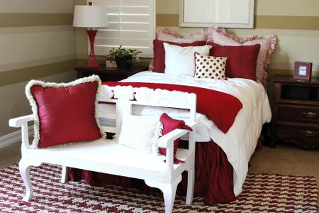 Red And White Bedroom Best Red And White Bedroom Decorating Ideas
