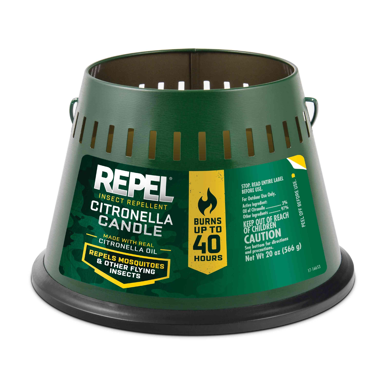 Repel Triple-Wick Citronella Candle