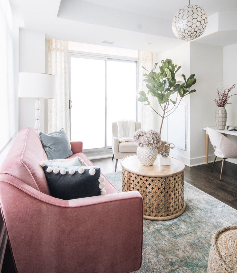 Small Space With Big Style In A Cute Condo