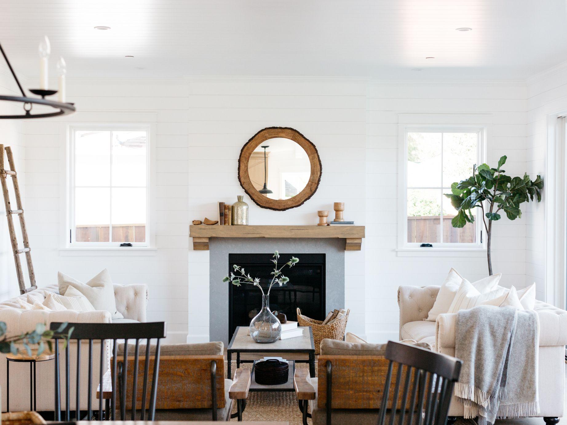 14 Farmhouse Style Living Room Tips, Farmhouse Living Room