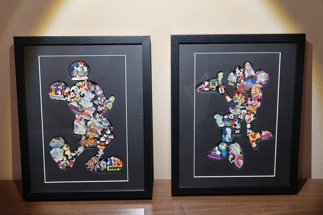 Disney Nursery DIY Pin Art