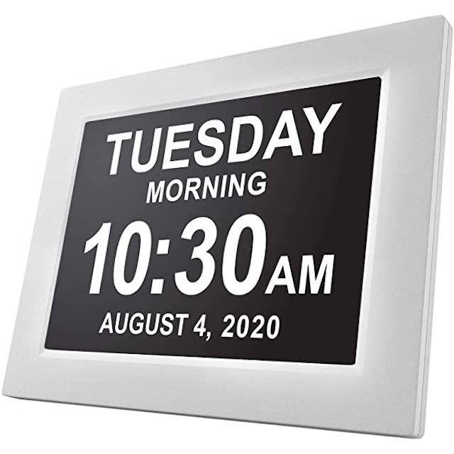 JALL Digital Calendar Alarm Day Clock