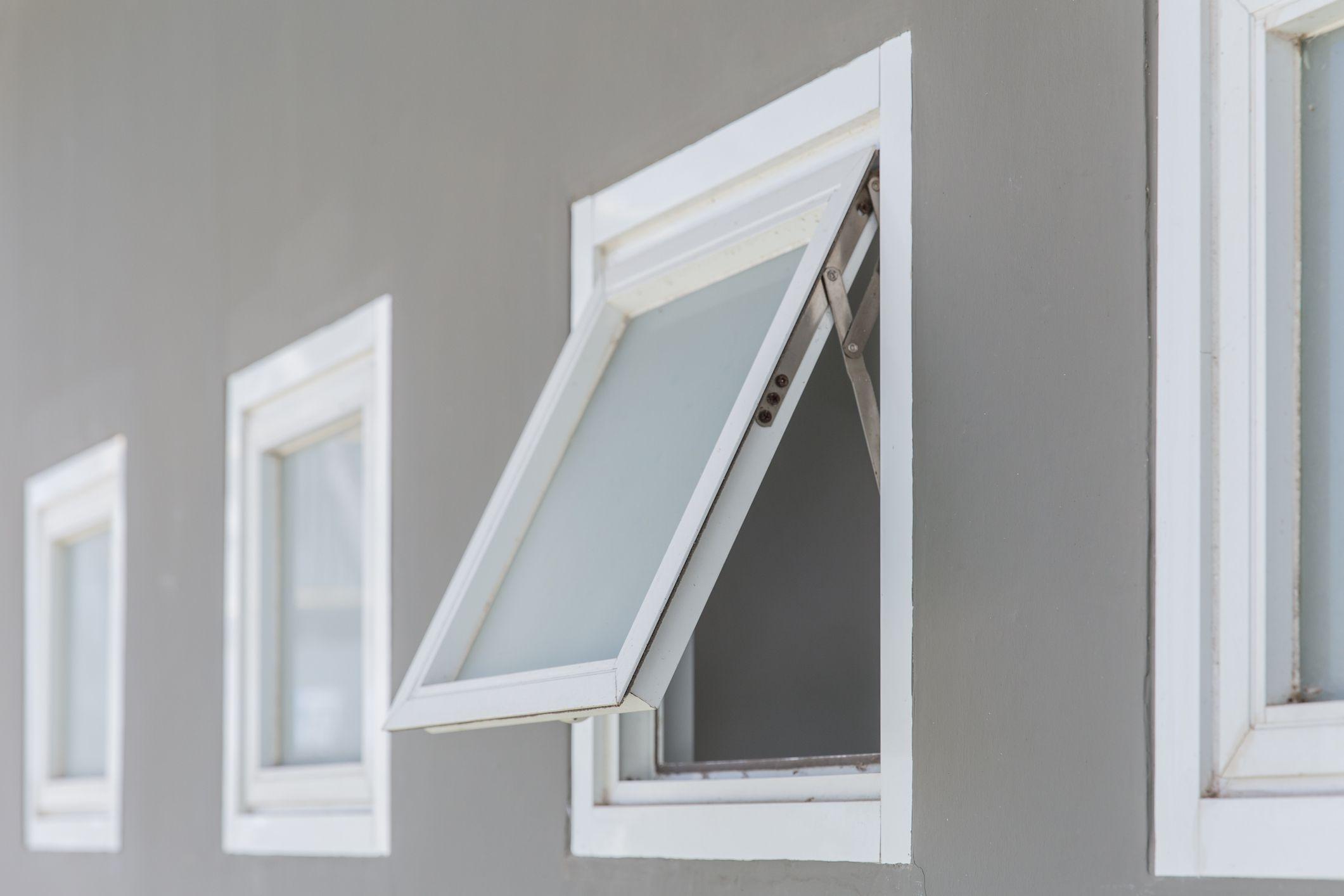 awning window opening