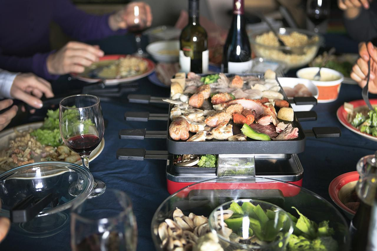 Prepare And Serve Raclette For A Dinner Party