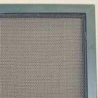 metal screen and metal frame