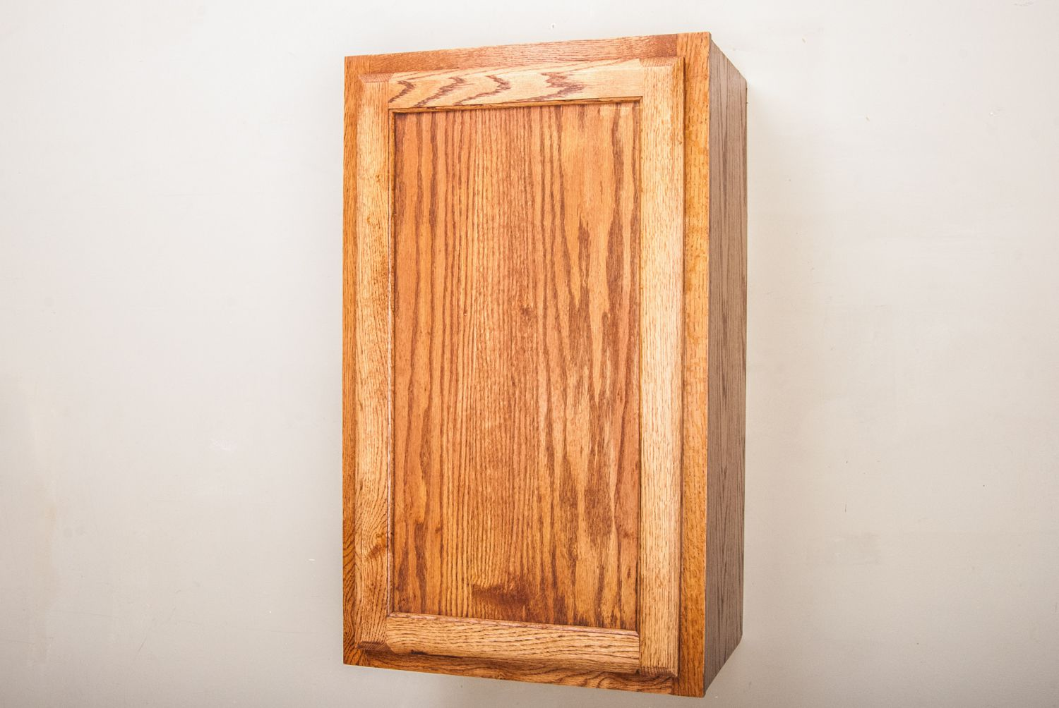 How To Stain And Finish Wood Cabinets