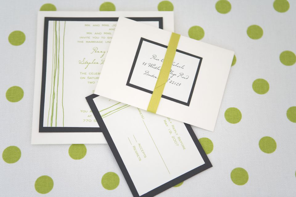 7 tips for getting wedding guests to rsvp send your invitations eight weeks before the wedding stopboris Gallery