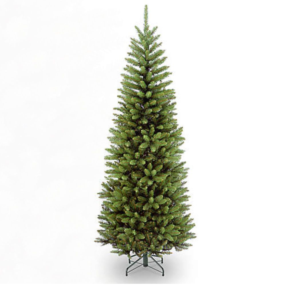 National Tree Company 6.5-Foot Kingswood Fir Pencil Christmas Tree