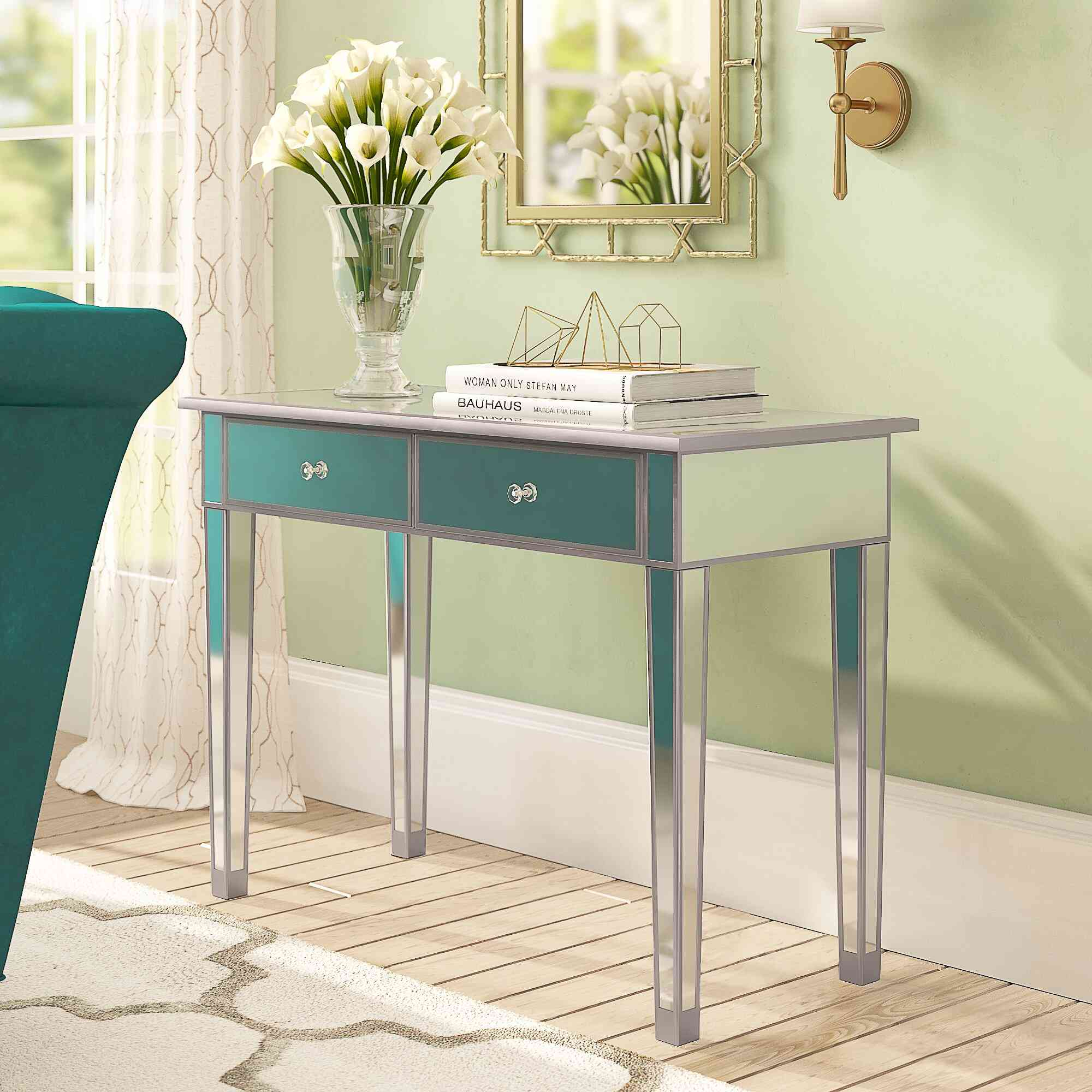 """Willa Arlo Interiors Kylie 39.5"""" Console Table"""