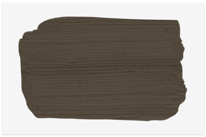 Valspar Brazilian Brown paint swatch for a beautiful dark brown
