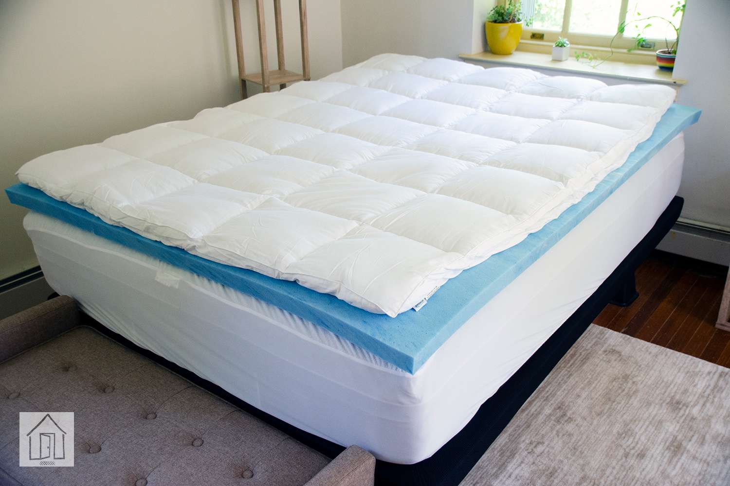Sleep Innovations Dual Layer Mattress Topper Review Supportive