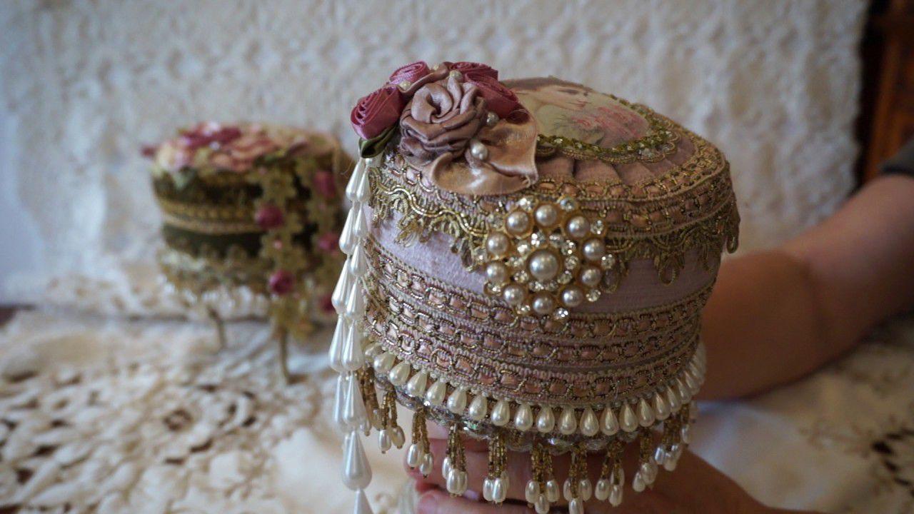 Victorian Rococo Style Trinket Box