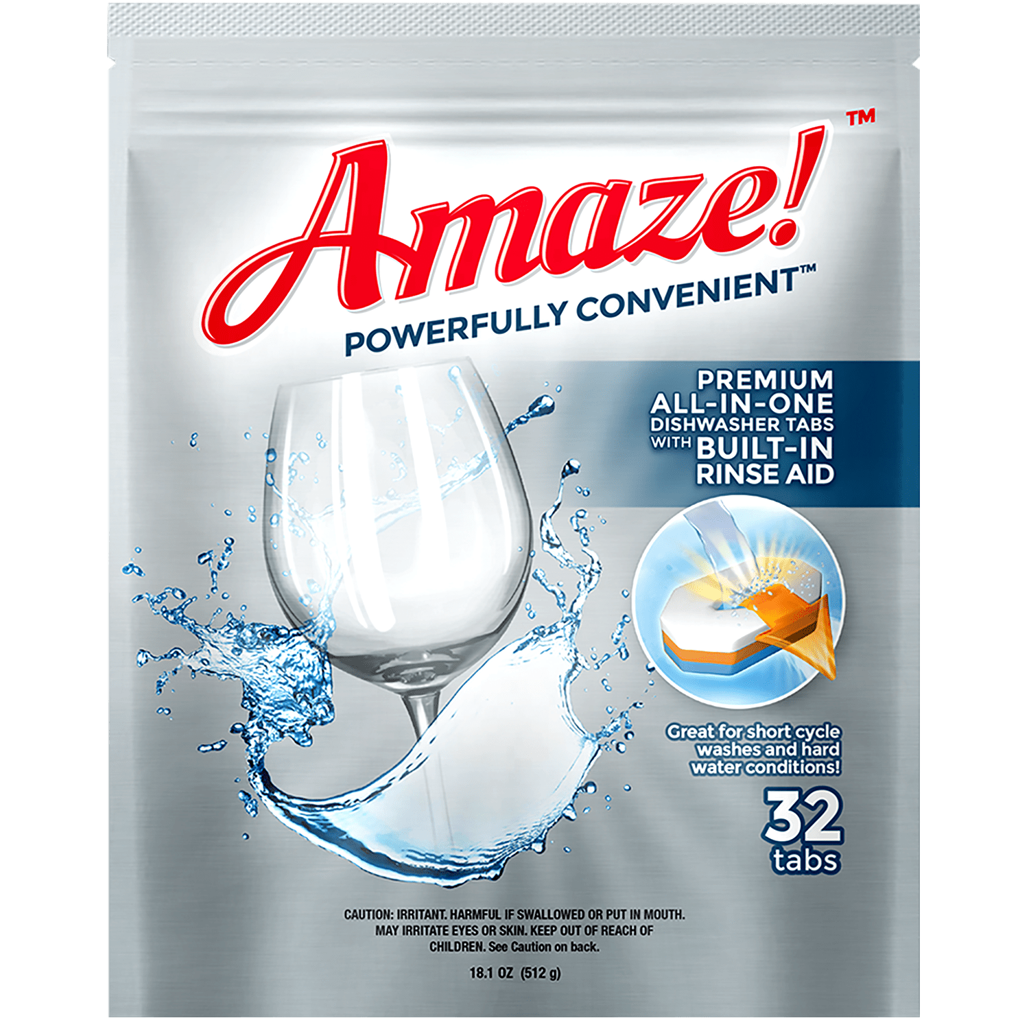 Premium All-in-One Dishwasher Tablets