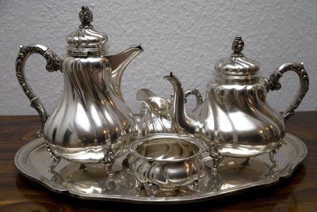 Silver Teapot Silberne Teekanne
