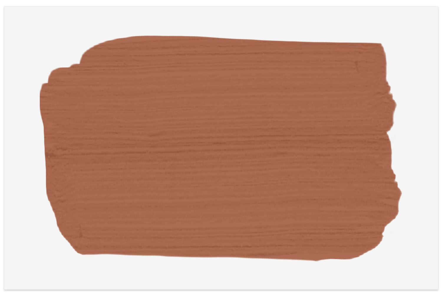 Paint swatch of Sherwin Williams Cavern Clay