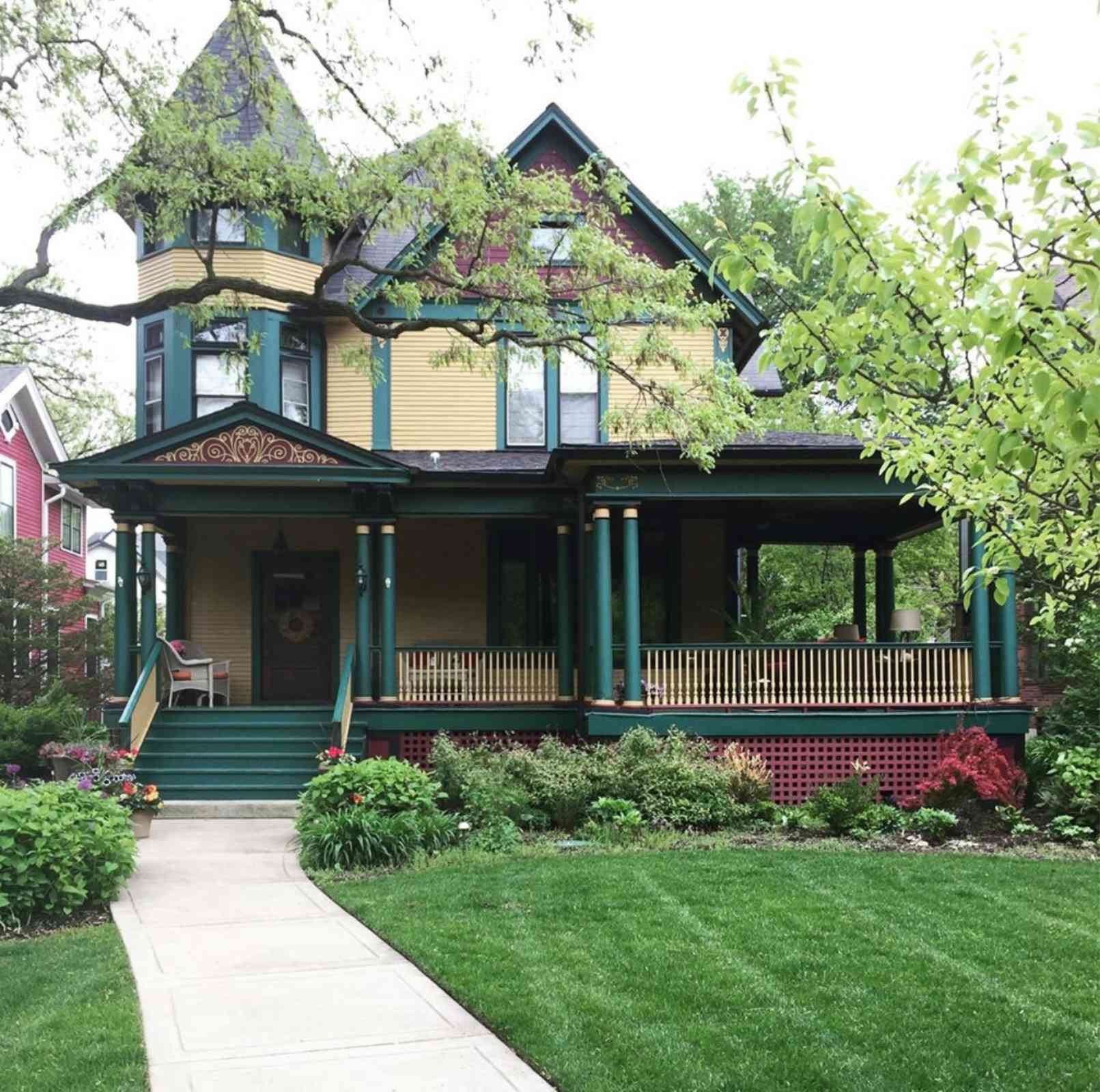 Casa victoriana Oak Park