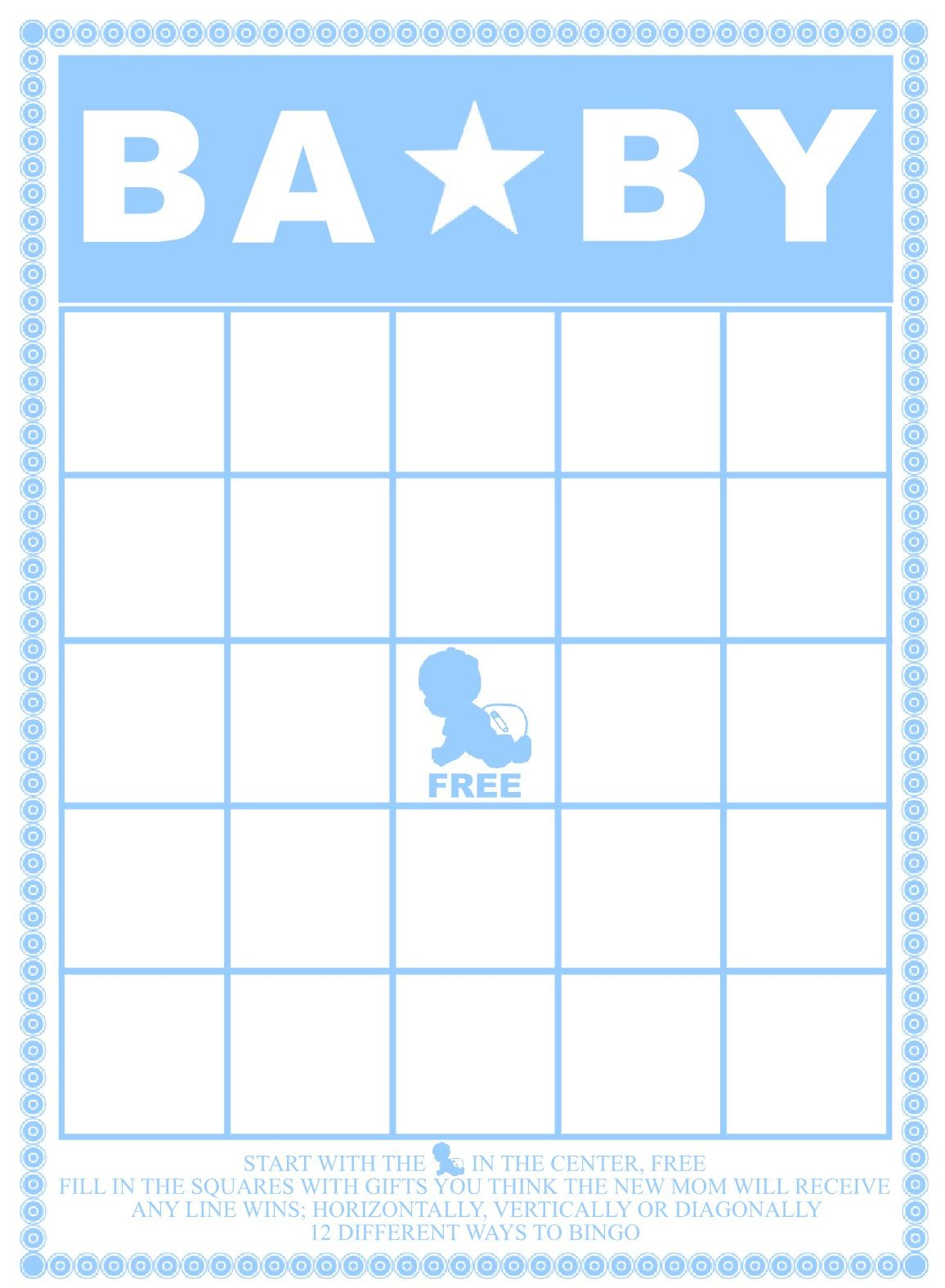 Baby Shower Bingo Cards Your Guests Will Love