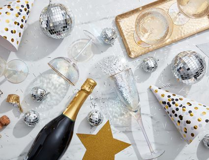 New Year's Eve party decor