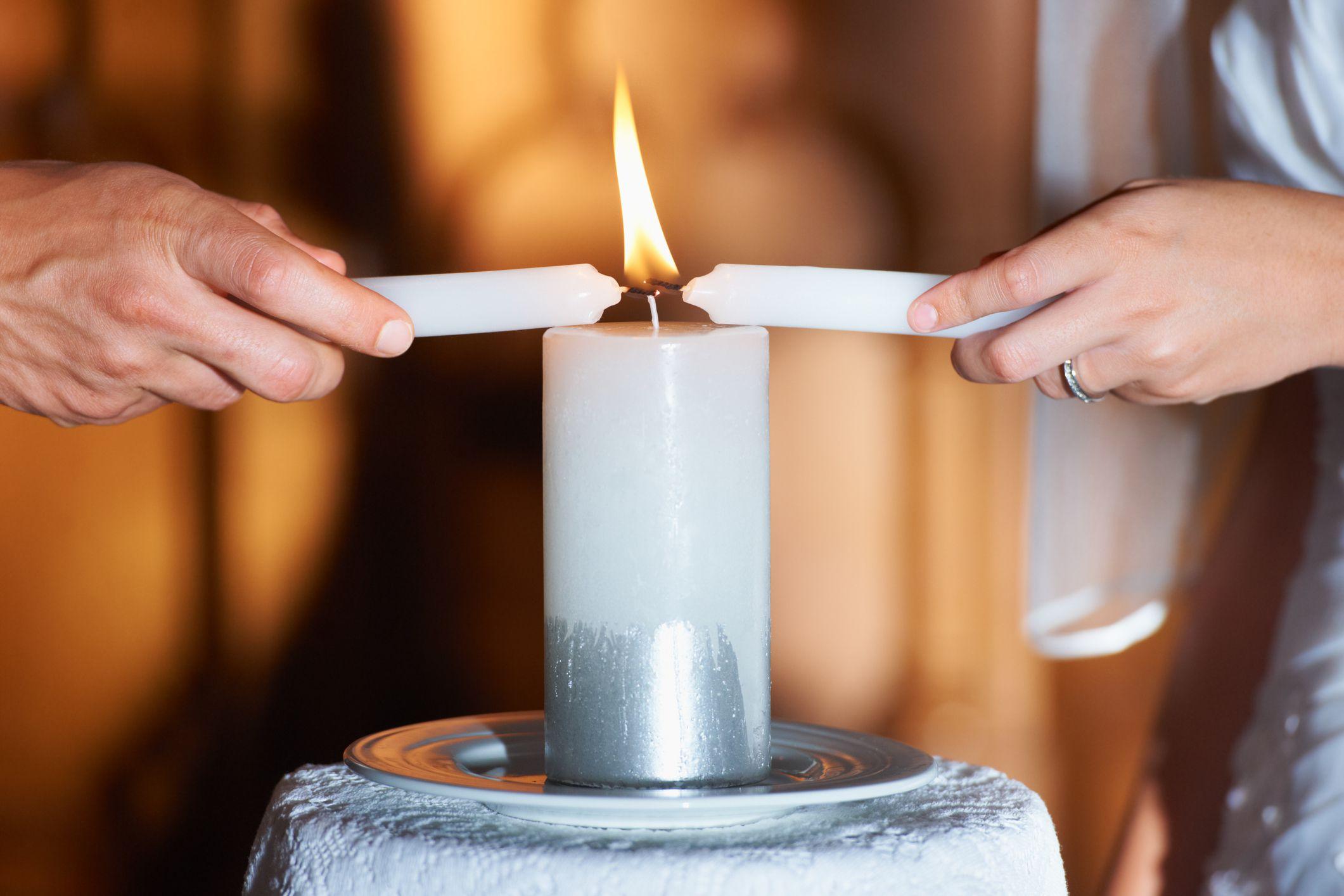 Symbolism of Wedding Candles