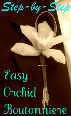 Making Your Own Boutonniere Is An Easy Diy Wedding Task That Can Save You Money Without A Lot Of Time Or Difficulty