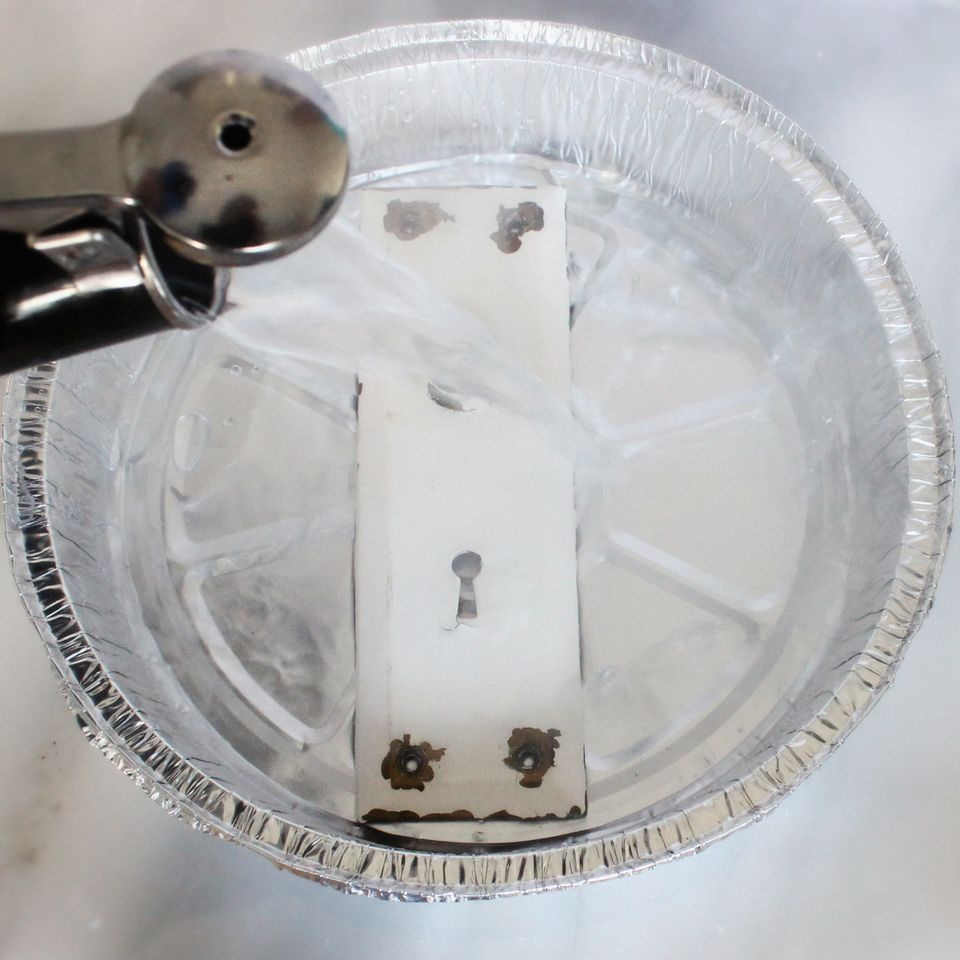 How To Remove Paint From Metal Without Chemicals