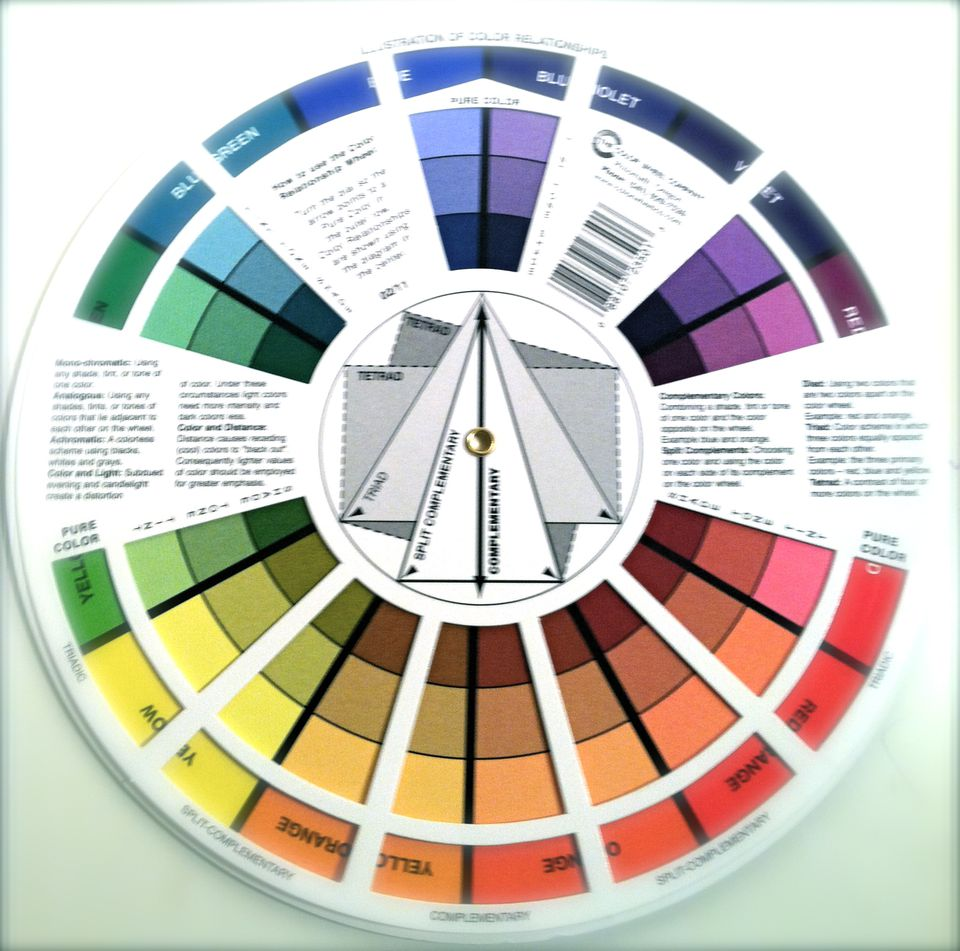 Easy Color Schemes From a Color Wheel | Color.About.com