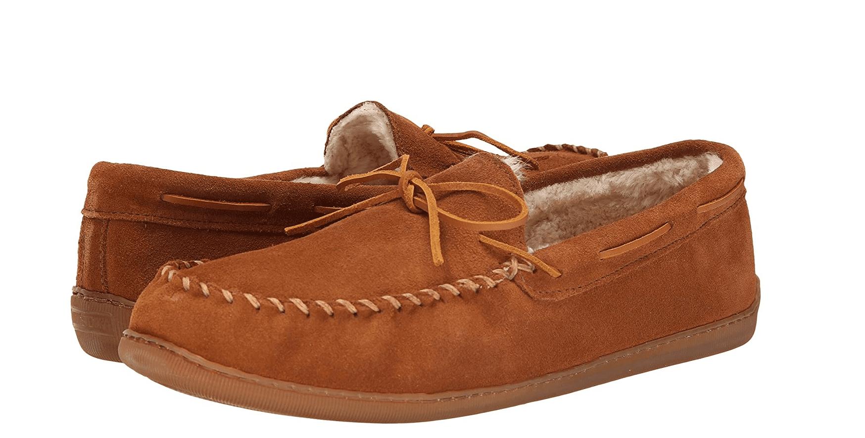 Minnetonka Men's Moccasin Slippers