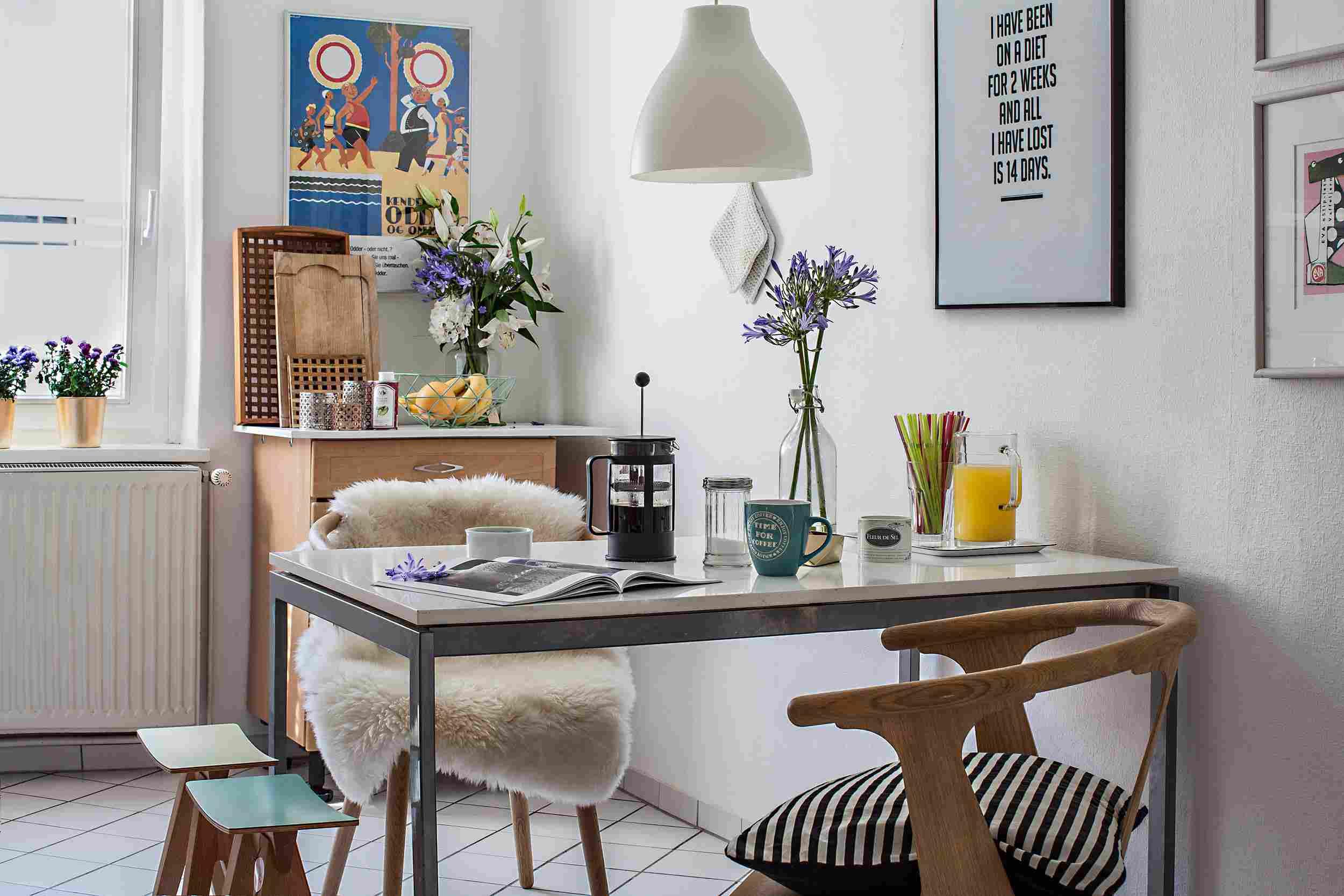 cozy kitchen dining