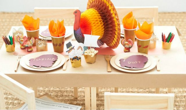 Remarkable Kid Friendly Thanksgiving Table Decorations Gmtry Best Dining Table And Chair Ideas Images Gmtryco