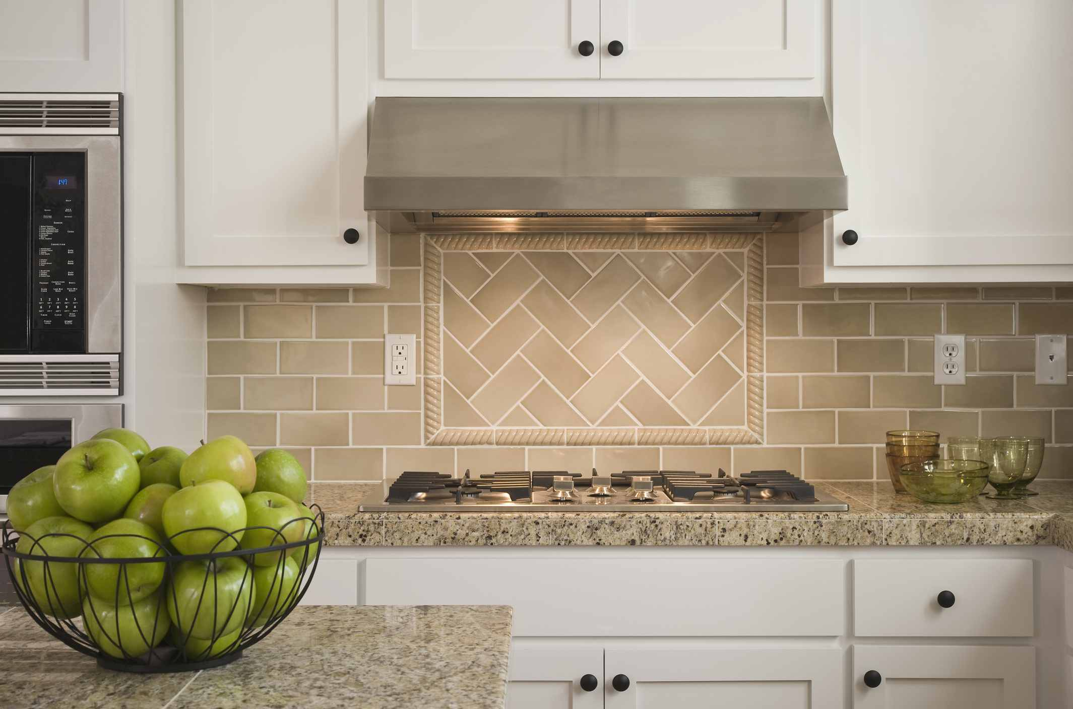 kitchen backsplash ceramic tile the best backsplash materials for kitchen or bathroom 19129