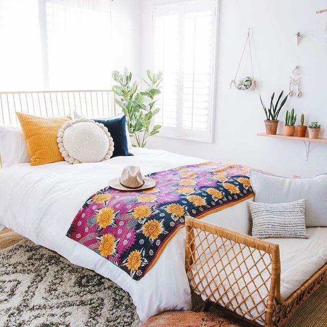 Colorido Diseño de dormitorio estampado