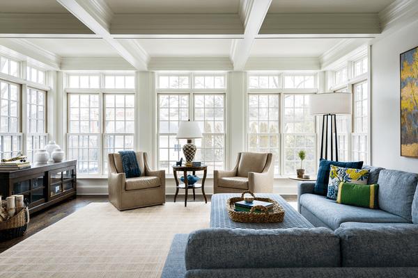 Mark Lavender living room design