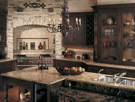 Fabulous How To Give Your Kitchen A Tuscan Style Home Interior And Landscaping Oversignezvosmurscom