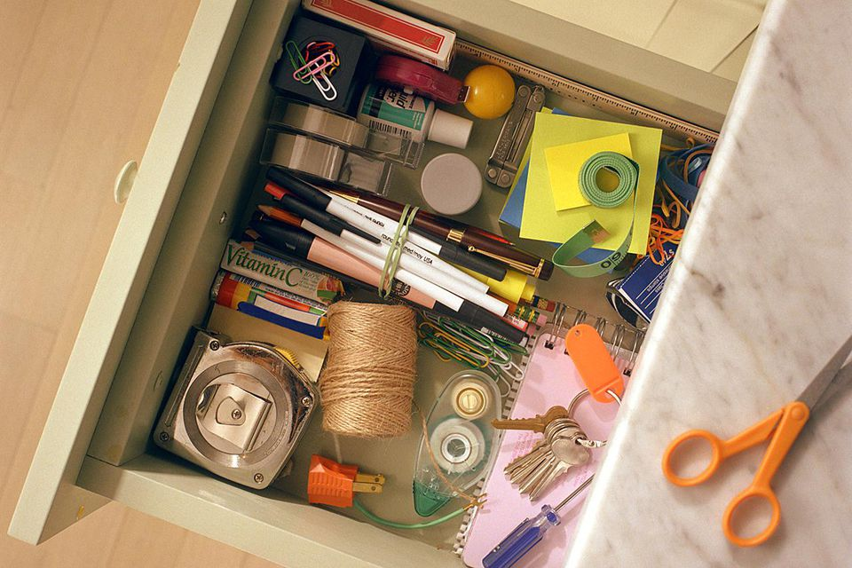 Declutter the junk drawer