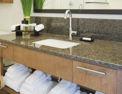 Countertop Covers From Tile To Skim Concrete - How to remove stains from bathroom countertops