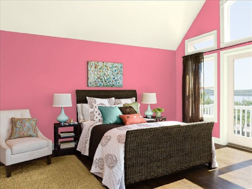 10 Great Pink and Purple Paint Colors for the Bedroom