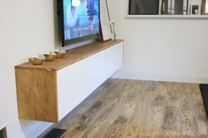 Ikea Credenza Tv Stand : Ways to make your own tv stand hide ugly cable boxes and wires