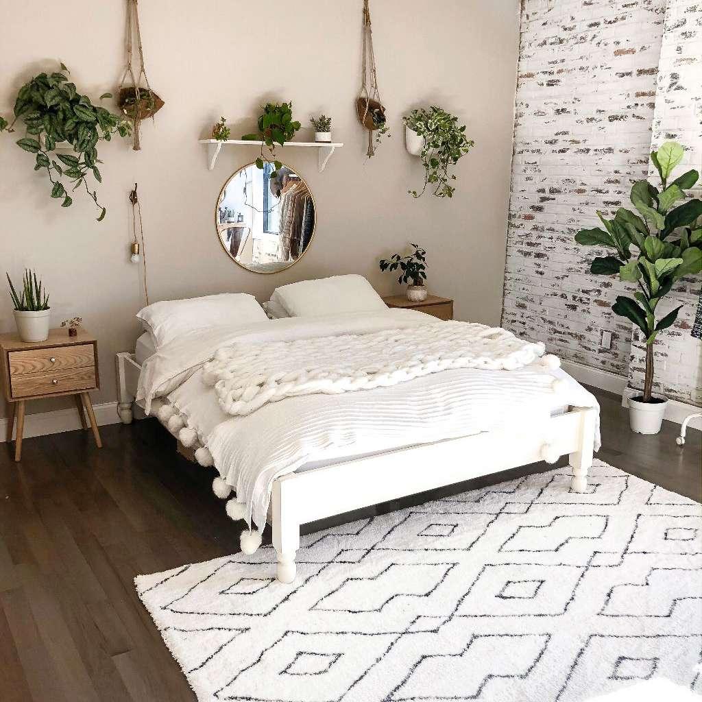 brick wall aesthetic room