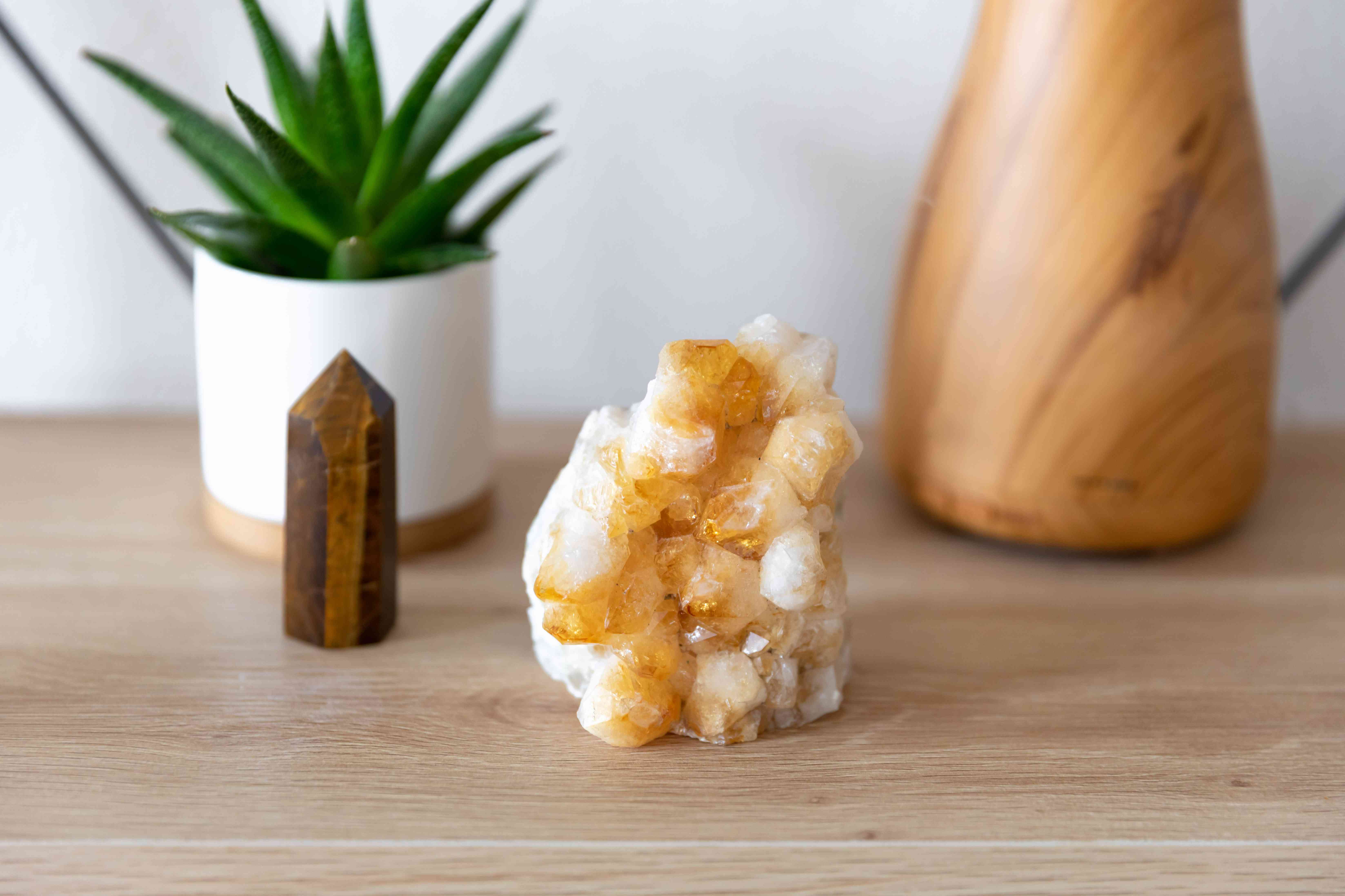citrine strengthened by tiger's eye