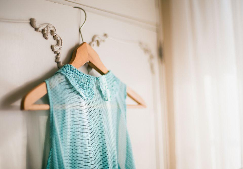 Hanging clothing