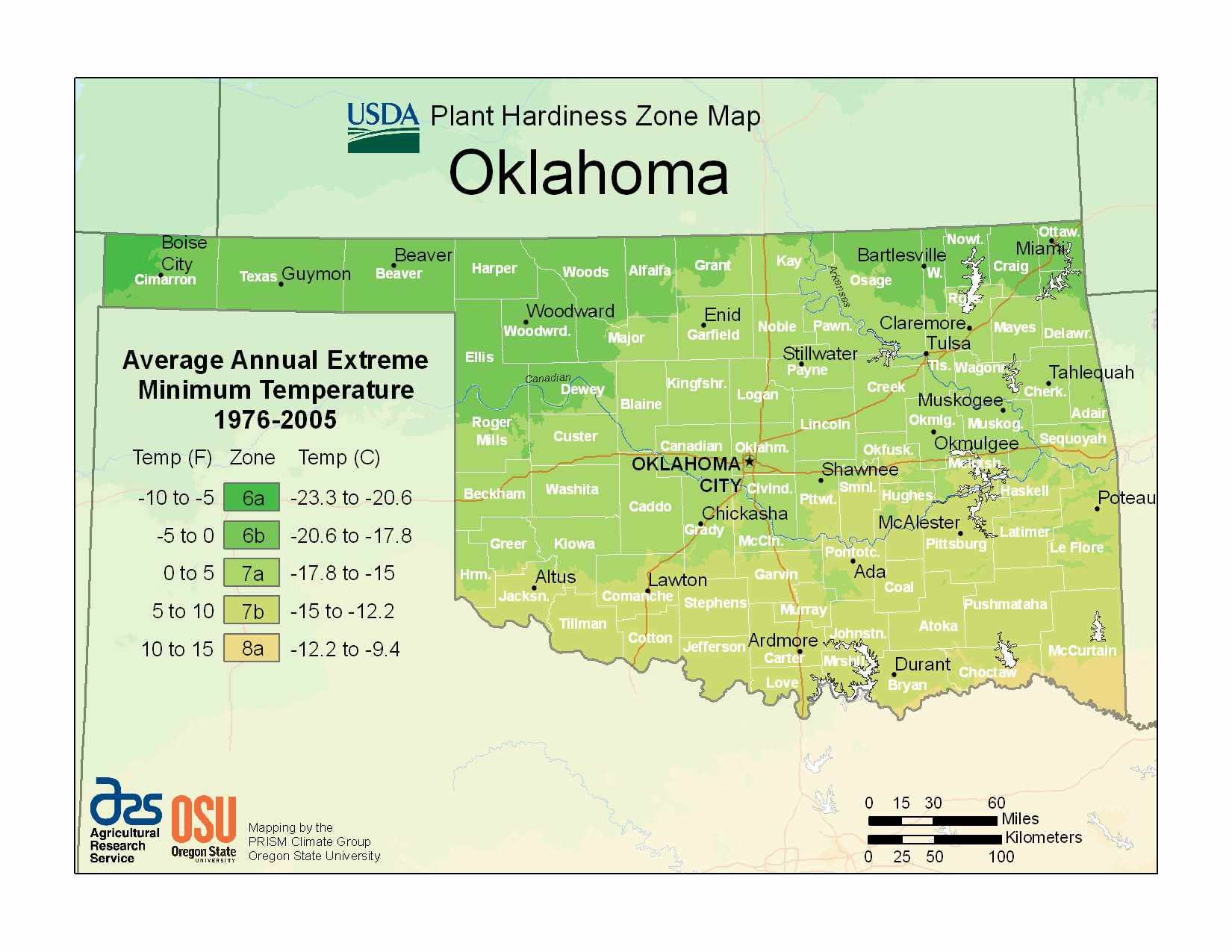 Photo of Oklahoma Hardiness Zones