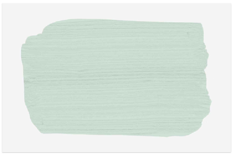 Benjamin Moore Serene Breeze paint swatch